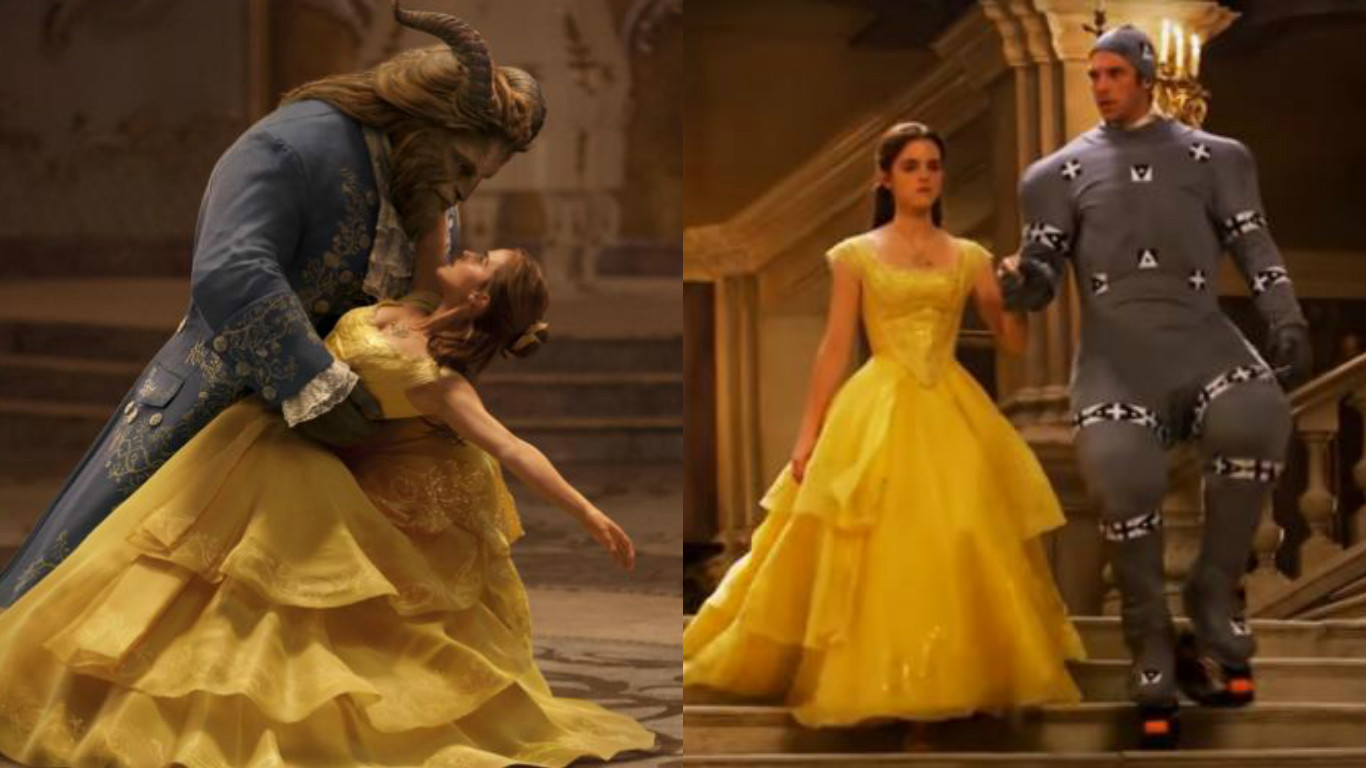 """You will never be able to unsee this video of Dan Stevens in his motion capture suit for """"Beauty and the Beast"""""""