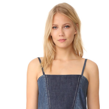Someone took two pairs of jeans and made them into a $445 dress — it's making us feel weird