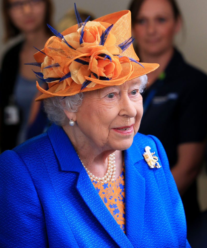 Queen Elizabeth paid a visit to victims of the Manchester attack at the hospital