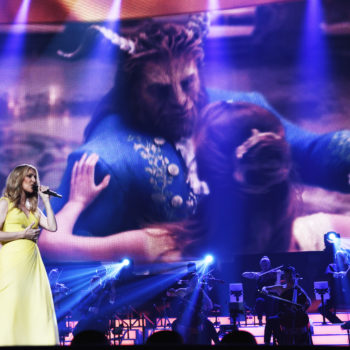 """Céline Dion just slayed her new """"Beauty and the Beast"""" song in Vegas, and we are not worthy"""