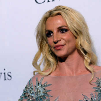 We finally know where Britney Spears got the red flamenco-style dress she posted all over Instagram