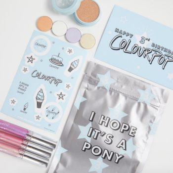 It's time to celebrate, because ColourPop launched their Birthday Swag Bag collection