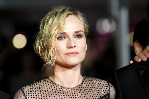 "Diane Kruger looks celestial in her ""pants under dress"" Cannes look"