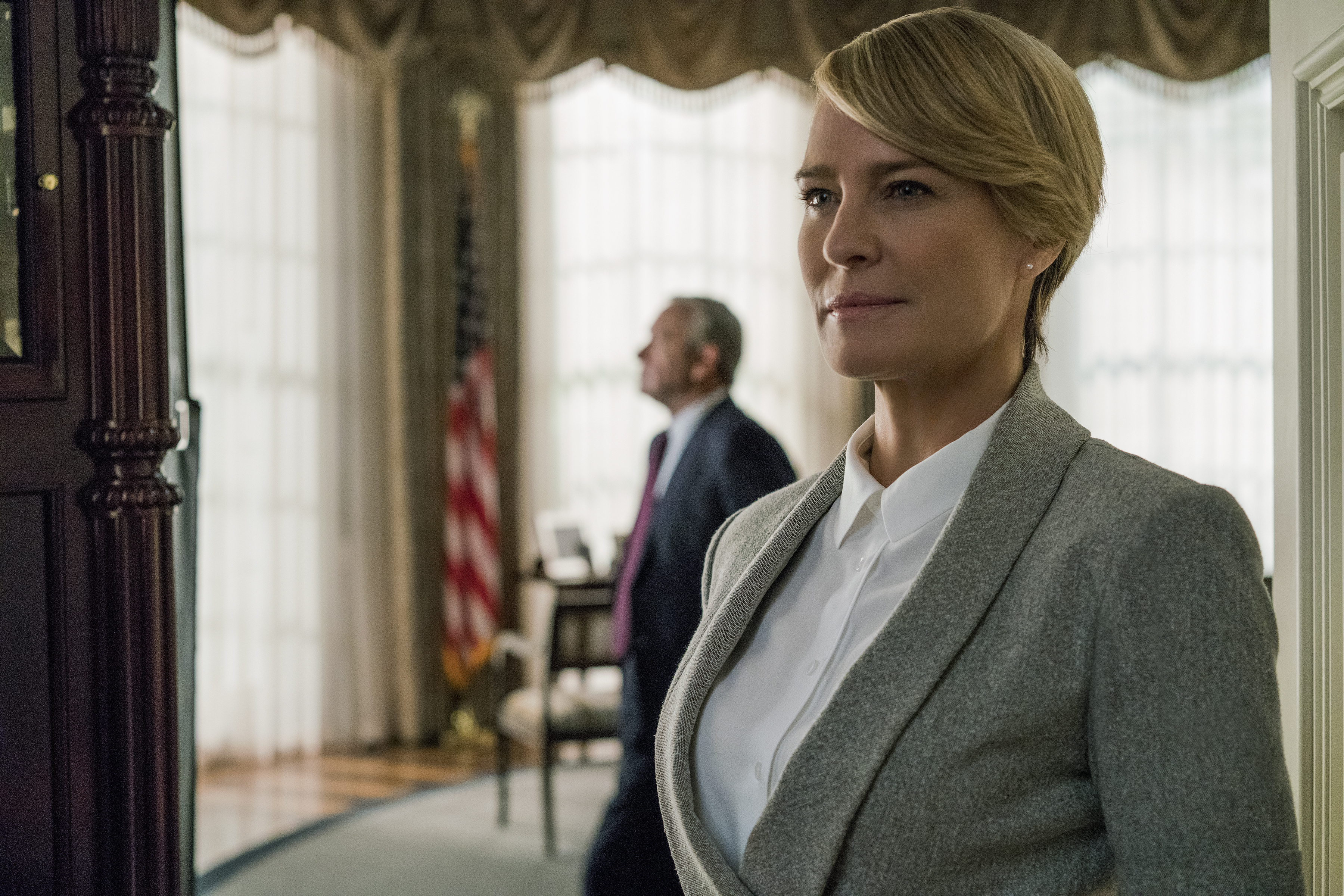 "Today in oh hell no: Robin Wright is actually not getting equal pay for her role on ""House of Cards"""