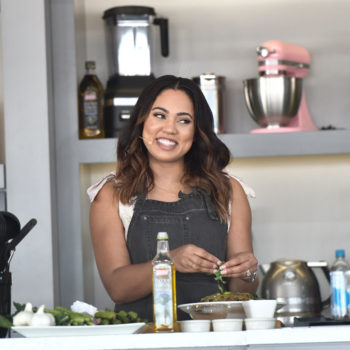 Ayesha Curry dropped some bars during a food demo, and we're so down for a new rap/cooking show
