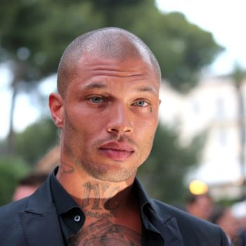 """Former """"hot felon"""" Jeremy Meeks walked the runway at Cannes, hung out with Paris Hilton"""