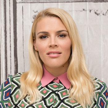 Busy Phillipps just dyed her hair millennial pink, and we are *into* her new look