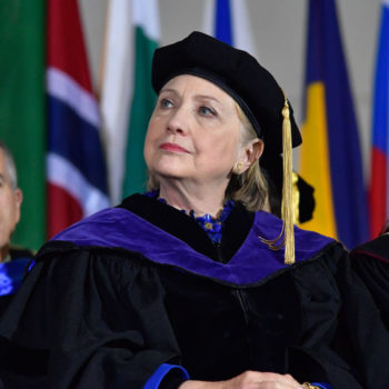 Hillary Clinton's empowering words to these Wellesley graduates have us feeling inspired