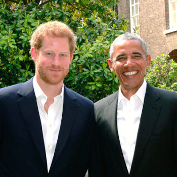 Prince Harry and Barack Obama just hung out, and this is a team-up we approve of