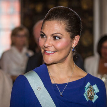 Crown Princess Victoria of Sweden is speaking out about struggling with an eating disorder, and it's important