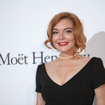 Lindsay Lohan wore the flowery prom dress of your dreams in Cannes