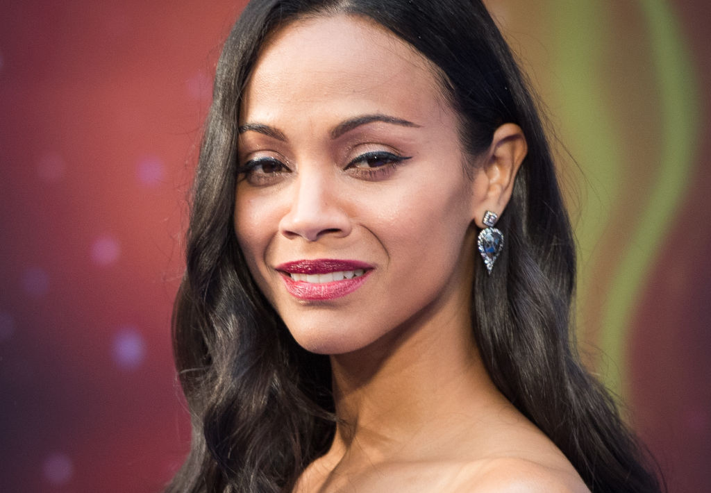 Zoe Saldana wore all white before Memorial Day, because fashion rules are made to be broken