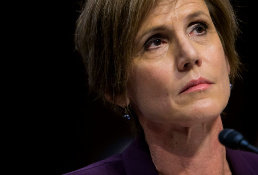 Sally Yates, still our hero, turns her firing into an important lesson for graduates during a commencement speech