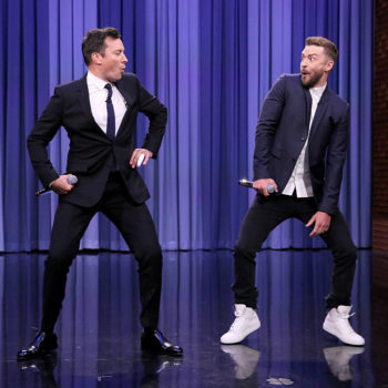 Jimmy Fallon and Justin Timberlake shared a bicycle built for two, and it's as delightful as it sounds