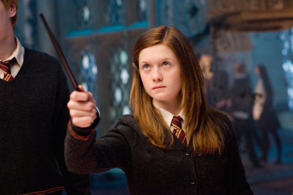 Bonnie Wright, aka Ginny Weasley, went back to Diagon Alley and had a magical time