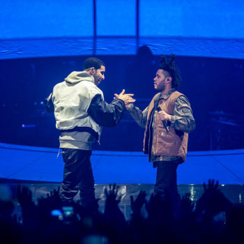 The Weeknd and Drake on stage together is our new favorite bromance