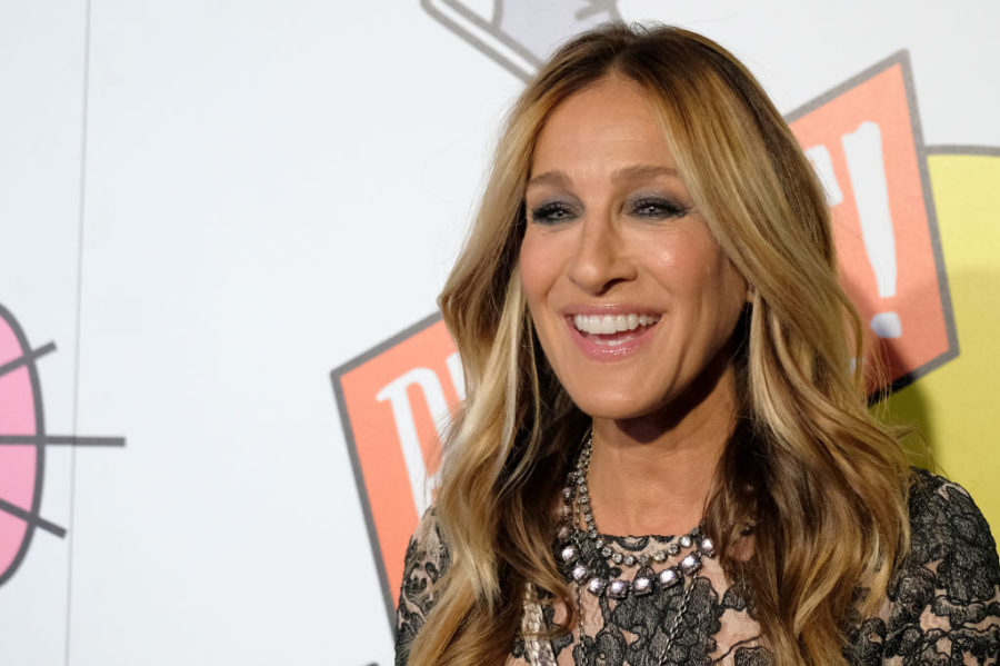 """Sarah Jessica Parker calls these shoes """"sneakers,"""" which is exactly what Carrie Bradshaw would do"""
