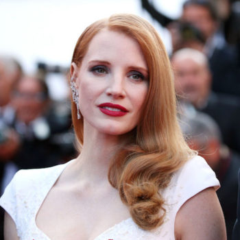 We're loving Jessica Chastain's firework of a dress at the Cannes awards ceremony