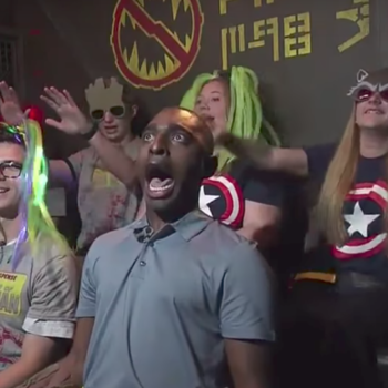 "This reporter lost his mind on the new ""Guardians of the Galaxy"" ride"