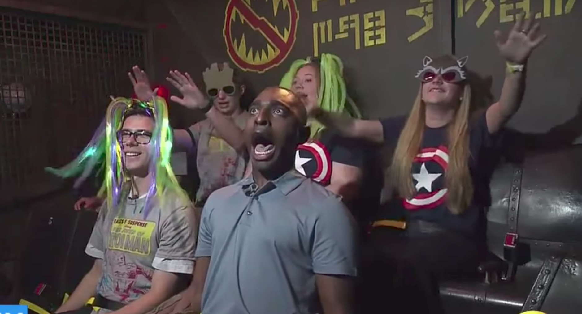 """This reporter lost his mind on the new """"Guardians of the Galaxy"""" ride"""