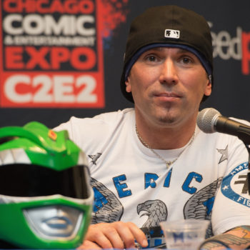 Jason David Frank, aka the Green Ranger, just escaped a real-life assassination attempt