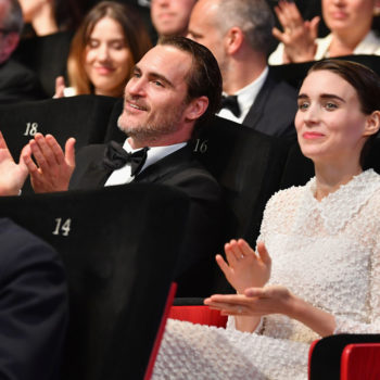 Rooney Mara and Joaquin Phoenix were pretty darn adorable together at Cannes