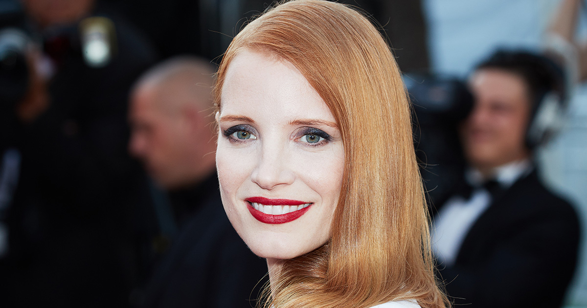 Jessica Chastain says she was disturbed by the depiction of women in movies at this year's Cannes Film Festival