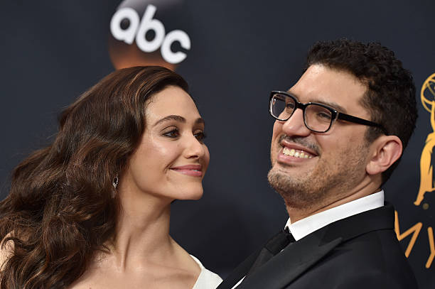 We finally have photos from Emmy Rossum's wedding