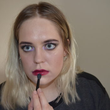 Here's how to recreate a lived-in makeup look inspired by the morning after a really wild night