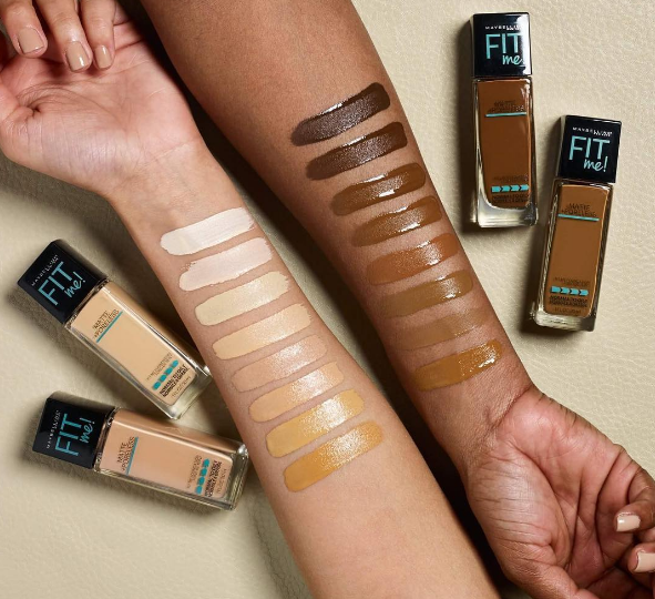 All the yes: Maybelline just expanded their Fit Me foundation shade range