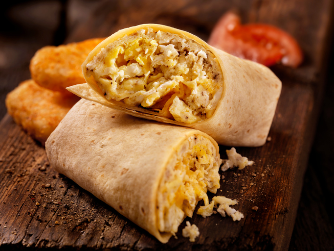 Listen, you deserve a better breakfast burrito