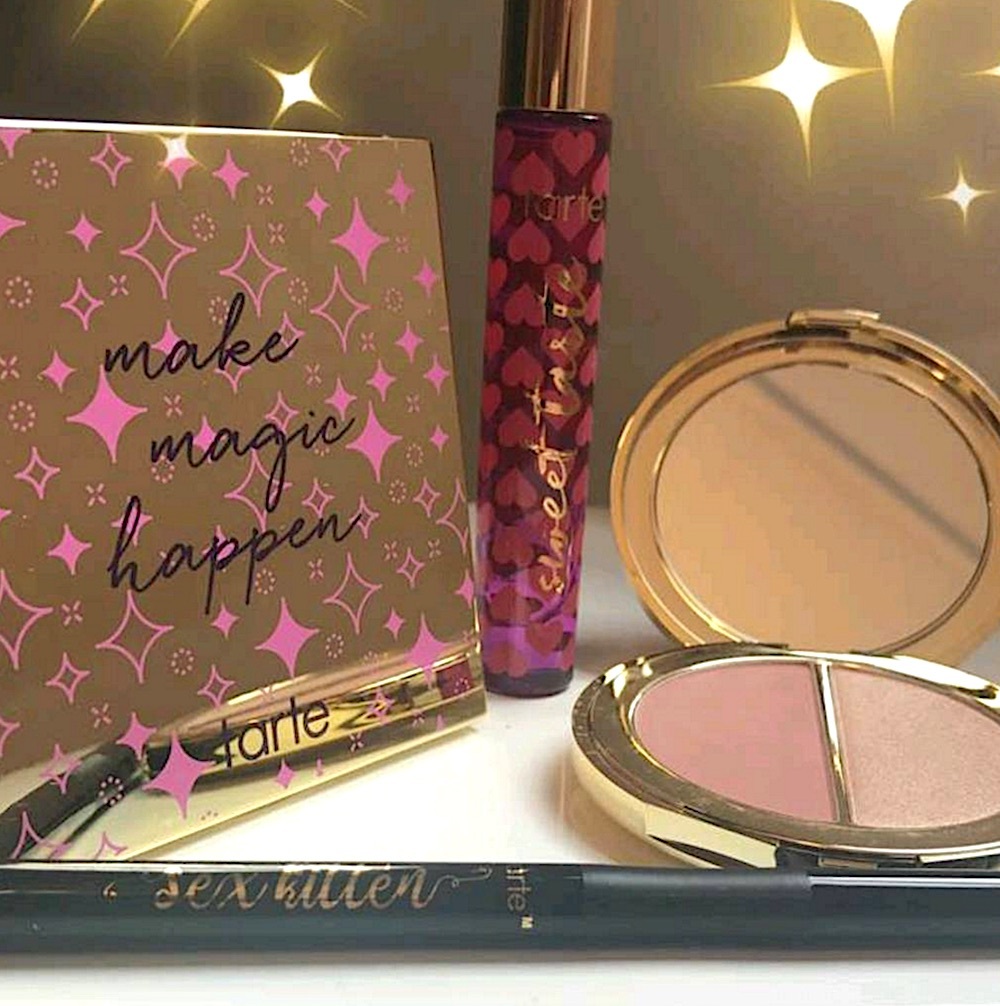 Tarte's new eyeshadow palette is the answer to all of our shimmery eye makeup prayers