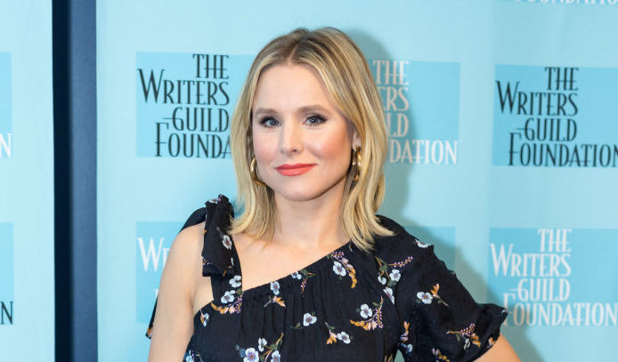 "Kristen Bell is proud of this unexpected, ""freshly plucked"" part of her legs"