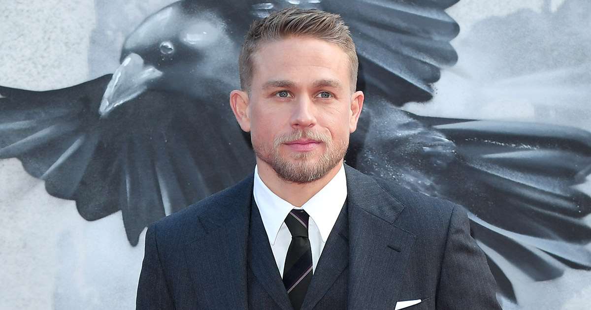Charlie Hunnam totally wants to make cooking videos for social media, and yep, okay!
