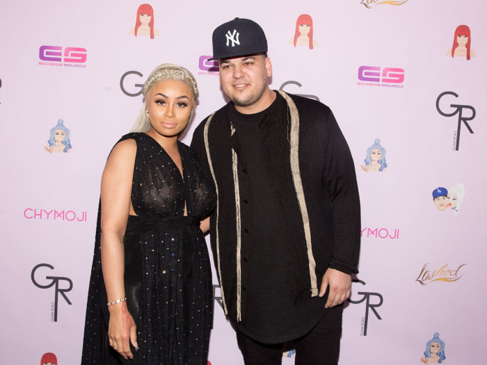 Rob Kardashian Shares Sweet Blac Chyna Photo