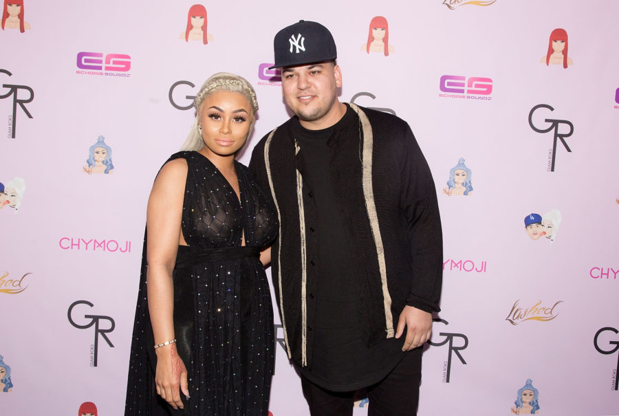 Rob Kardashian just shared a throwback pic of Blac Chyna at 14 years old