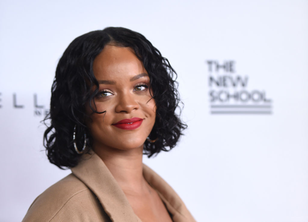 Rihanna may have new music on the way, and OMG, yes please