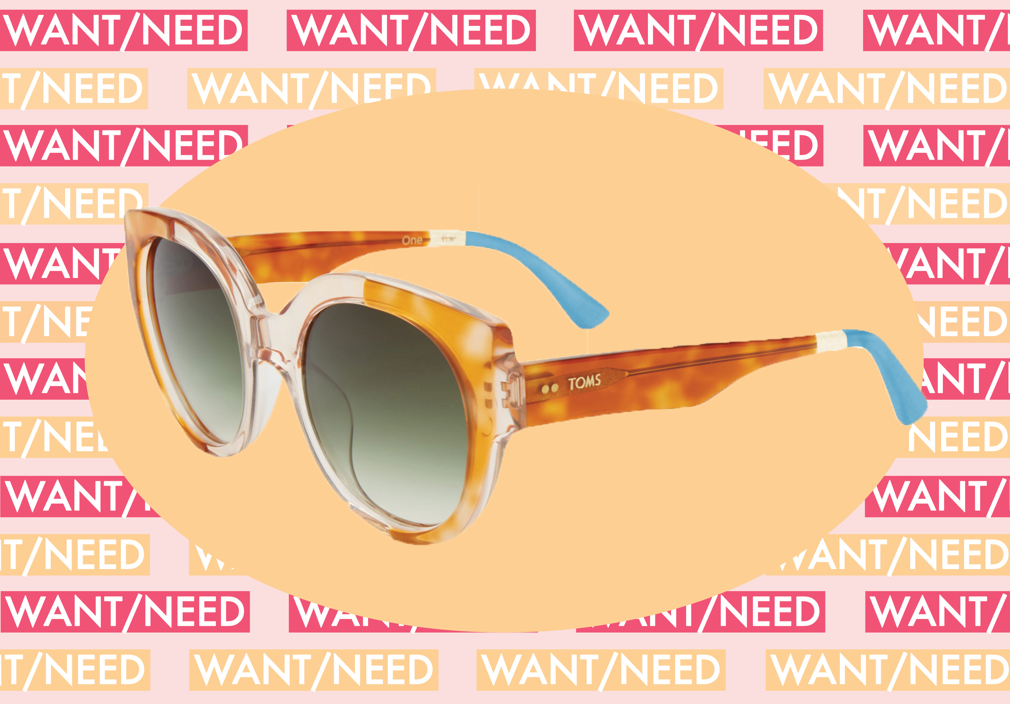 WANT/NEED: A pair of retro shades (because squinting in the sun isn't cute), and more stuff you want to buy