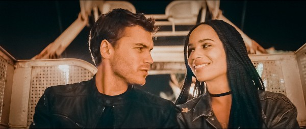 We have an exclusive look at Zoë Kravitz's new romantic action-thriller