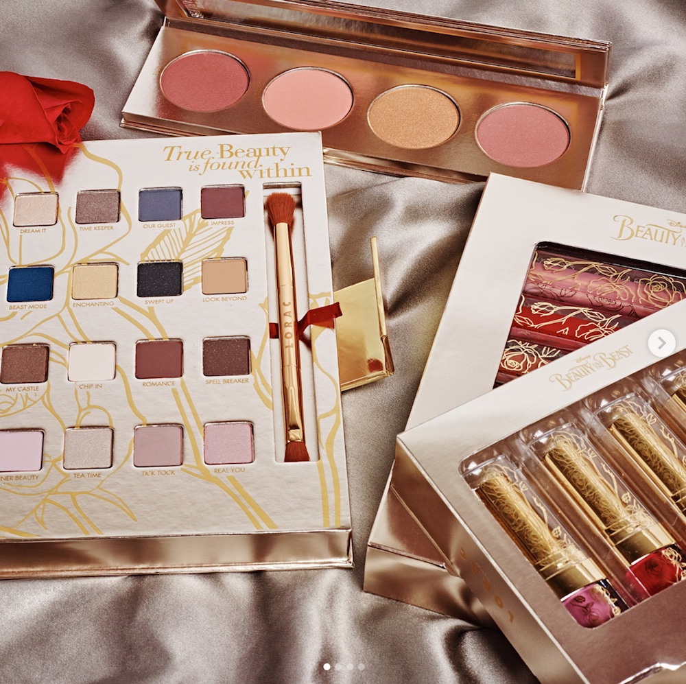 "Surprise: Lorac Cosmetics has blessed us with an enchanting ""Beauty and the Beast"" collection"
