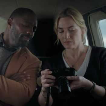 "Watch Idris Elba and Kate Winslet survive a plane crash together in the trailer for ""The Mountain Between Us"""
