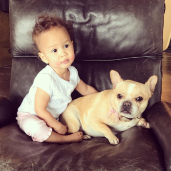 This video of Luna Legend kissing her dog is the best Friday gift we could ever have asked for