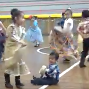 This little boy can't walk, but he can still dance folklorico