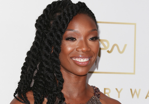 Singer Brandy was taken to the hospital, and we're worried