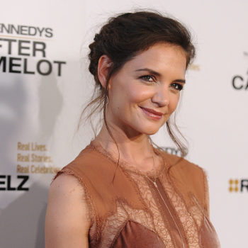 Katie Holmes is enrolled at Harvard, so don't be alarmed if you see her around campus