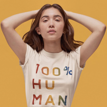 """Everlane's new """"100% Human"""" line was colorfully created in honor of Pride Month"""