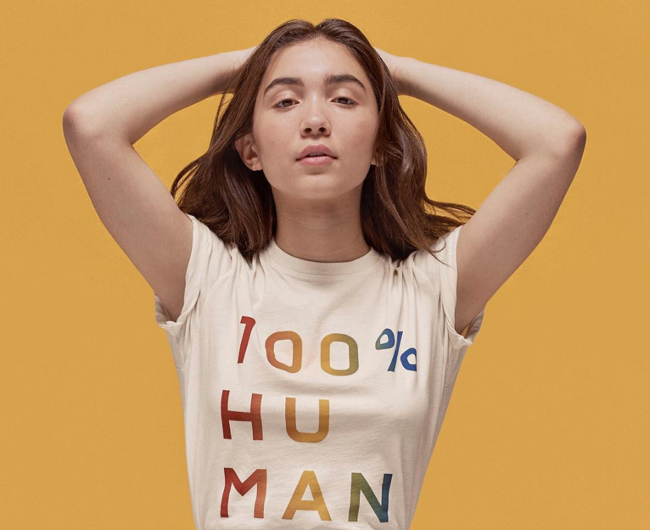 "Everlane's new ""100% Human"" line was colorfully created in honor of Pride Month"