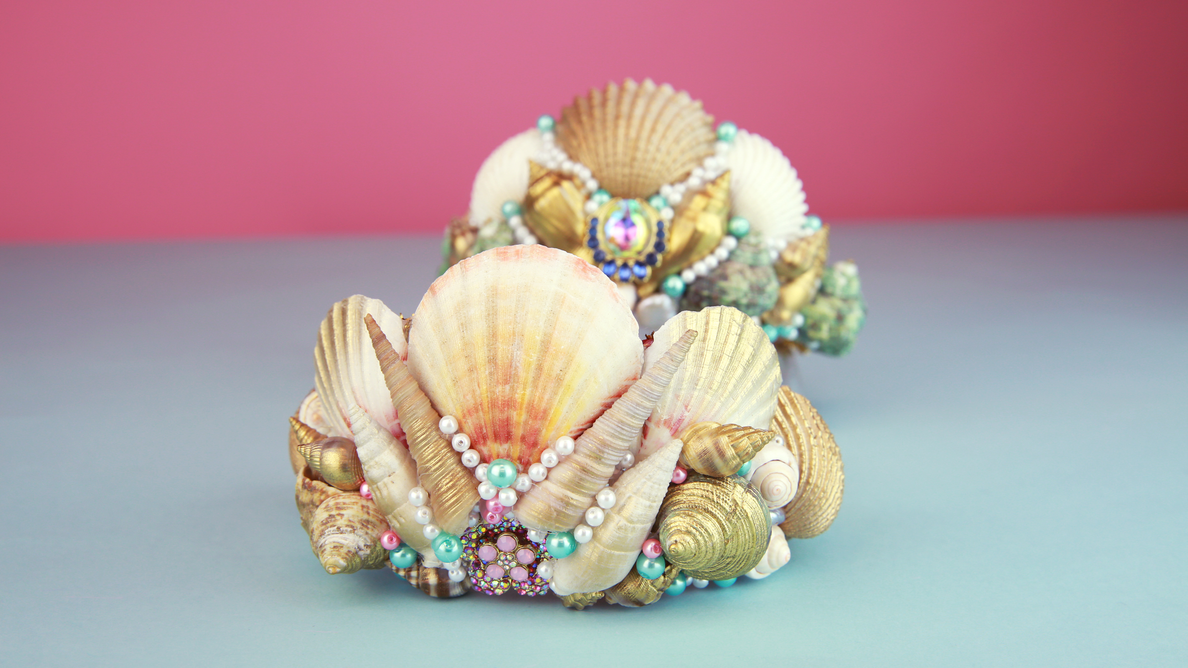This DIY mermaid crown will unleash your inner underwater queen