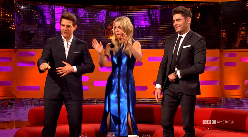 This Tom Cruise and Zac Efron dance off is required viewing
