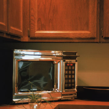 Someone built a microwave you can play video games on, for that next tricky birthday person
